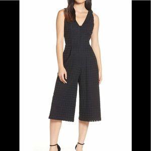 Adelyn Rae jumpsuit in black, size Medium